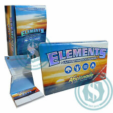 Elements Aficionado 1.25 11/4 78mm Chlorine Free Rice Papers #SmoKingUK