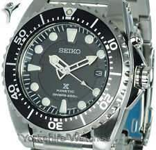 SEIKO KINETIC 200Mtr PRO DIVERS STAINLESS STEEL BRACELET. 2Yr Warranty SKA371P1