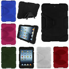 Kids ShockProof Heavy Duty Hard Case Cover Stand For Apple iPad Air 2 Mini 1 2 3
