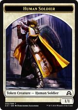 4 x Human Soldier Token - Shadows over Innistrad - Common - Near Mint