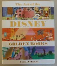 The Art of the Disney Golden Books by Charles Solomon Signed Author + 6 artists