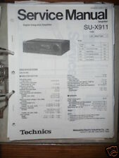 Service Manual Technics SU-X991 Amplifier,ORIGINAL