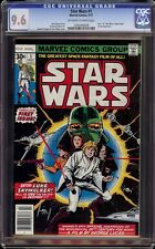 Star Wars # 1 CGC 9.6 OW/W (Marvel, 1977) 1st appearance of Star Wars in comics