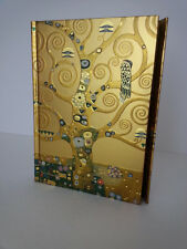 KLIMT The Tree of Life Lined Blank Journal Magnetic Closure