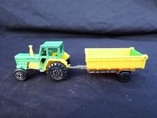 Vintage Farm Tractor and Trailer + Boat & Trailer