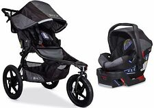 BOB Revolution Pro Travel System Jogging Stroller Jogger w/ B Safe 35 Car Seat B