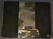 2001 Ford SVT F-150 Lightning Pickup Truck Sales Brochure Nice Original 01