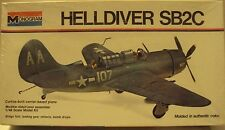 Monogram 1/48 Curtiss SB2C Helldiver US Navy WWII From 1973 Kit #6831 Sealed