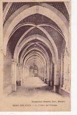 MONT DES CATS le cloître de l'abbaye éd beheydt timbrée
