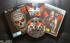 WWE 13 W13 Stone Cold Austin 3:16 Edition (PlayStation 3, 2012) PS3 - FREE POST