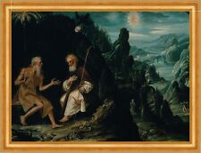 The Hermits, Saint Paul and Saint Anthony de Echave Ibía Eremiten B A3 00755