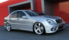 Mercedes W203 - Pair Skirt Side Tuning AMG look maxton design vetrores