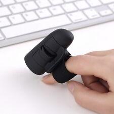 2.4GHz USB Wireless Finger Rings Optical Mouse 1200Dpi For PC Laptop Desktop UR