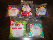 McDonald's--Lot Of 5--Eric Carle #3 1996--Tigger Movie #1 2000--See List-Lot #80