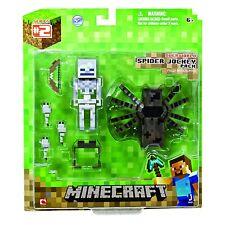 Minecraft Overworld Spider Jockey 7.6cm Articulado Figura De Acción BNIP