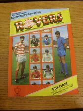05/10/1983 Doncaster Rovers v Fulham [Football League Cup] . Thanks for viewing