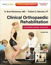 Clinical Orthopaedic Orthopedic Rehabilitation Evidence Based Approach Third 3rd
