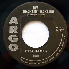 HEAR Etta James 45 Tough Mary/My Dearest Darling ARGO 5368 soul EX mod R&B
