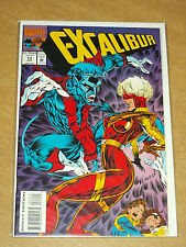 EXCALIBUR #73 VOL 1 MARVEL CAPTAIN BRITAIN JANUARY 1994