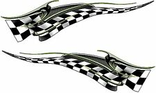 """Boat Car Truck Trailer Motorcycle Graphics Decal flag Stickers set 2- 36"""" X 11"""""""