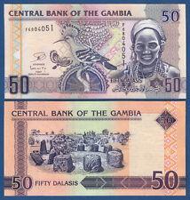 GAMBIA  50 Dalasis  (2013)  UNC  P. 28 c