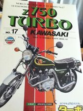 RARE Union Z750 Turbo Kawasaki Model Kit 1:15 M-17 Motorcycle Sealed Bags Bike