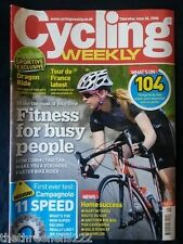 CYCLING WEEKLY - FITNESS FOR BUSY PEOPLE - JUNE 26 2008
