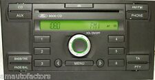 Ford Mondeo 6000 CD Radio Player AUX Unit with Audio Code Warranty 3 Months