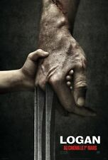 Affiche Pliée 40x60cm LOGAN Marvel/  X-Men James Mangold 2017 Hugh Jackman NEUVE