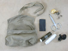 US ARMY WW2 GI Sewing Kit Uniform / Soldaten Nähzeug Knöpfe Garn Schere