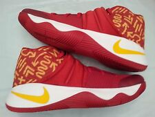 Nike Kyrie 2 ID Red Yellow White Cavs PE Size 14. Lebron all star championship