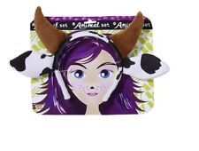 Animal Dairy Spotted Cow Ears Ear Headband Horns Adult Child Costume Accessory