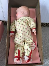 Vintage Marlon Creations Sleeping Baby Doll with WindUp Music 40's/50's