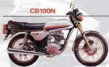 honda cb100n paint work decal set ,classic restoration