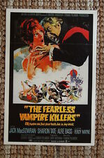 The Fearless Vampire Killer Lobby Card Movie Poster Jack MacGowran