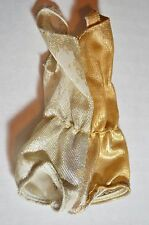 1970 VINTAGE LIVING BARBIE ORIGINAL OUTFIT #1116 GOLD AND SILVER SWIMSUIT
