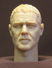 "Tête Custom resin head sculpt 12"". Figurines échelle 1:6. Russell Crowe H-4"