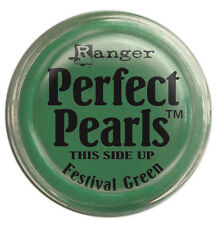 Perfect Pearls Pigment Powders 1oz-Festive Green - Ranger