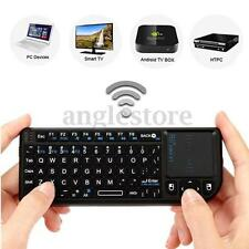 Mini USB 2.4GHz Sans Fil Clavier Touchpad Pavé Tactile Pour PC Laptop Smart HDTV