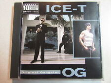 ICE-T ORIGINAL GANGSTER CD SIRE/WARNER BROS 7599-26492-2 GANGSTA HIP HOP [PA]