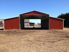 Steel Barn HORSE BARN 42 x 36 x 14 x 9 Metal Building FREE SETUP AND DELIVERY