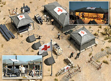 9605 Busch HO Kit of a Field Hospital Kit with Tents - NEW