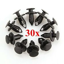 30x 8mm Rivet Fender Clips ATV TRX QUAD For Honda TRX680 Suzuki Kawasaki Polaris