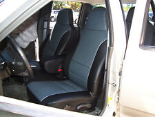 CHEVY COLORADO 2004-2012  IGGEE S.LEATHER CUSTOM SEAT COVER 13 COLORS AVAILABLE