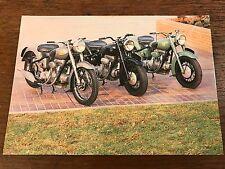 Vintage Sunbeam Models National Motorcycle Museum Postcard (C)
