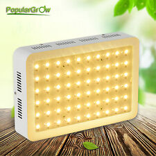PopularGrow 300W LED Grow Light Lamp Full Spectrum Hydroponics Veg Indoor Plant