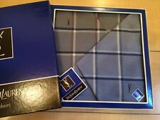 Lot of 2 MENS YVES SAINT LAURENT COTTON SCARF BANDANA HANDKERCHIEFS TOM FORD