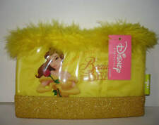 Disney Japan Beauty and the Beast Belle Clutch Purse Halloween Costume Feathers