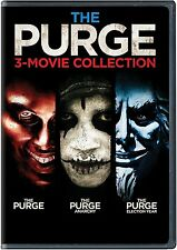 The Purge: Complete 3 Movie Collection Purge + Anarchy + Election Year DVD Set