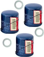 3 GENUINE HONDA / ACURA OIL FILTER Updated Original Equipment w/ Washer Gasket